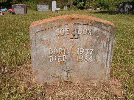 BOX, JOE - Ouachita County, Arkansas   JOE BOX - Arkansas Gravestone Photos