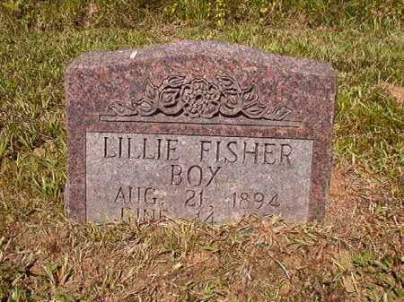 FISHER BOX, LILLIE - Ouachita County, Arkansas   LILLIE FISHER BOX - Arkansas Gravestone Photos