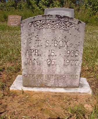 BOX, T S - Ouachita County, Arkansas | T S BOX - Arkansas Gravestone Photos
