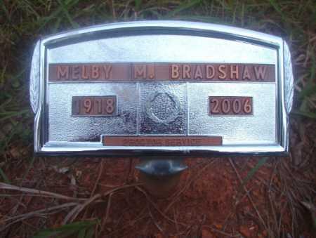 BRADSHAW, MELBY M - Ouachita County, Arkansas | MELBY M BRADSHAW - Arkansas Gravestone Photos