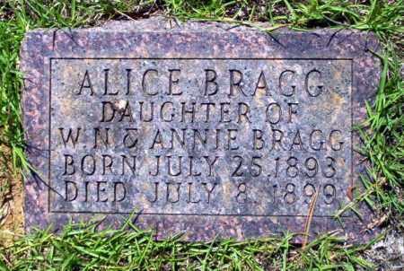 BRAGG, ALICE - Ouachita County, Arkansas | ALICE BRAGG - Arkansas Gravestone Photos