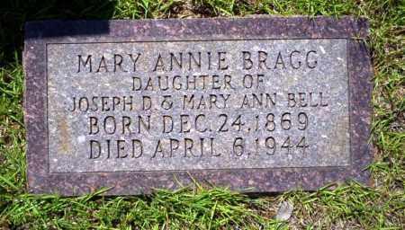 BRAGG, MARY ANNIE - Ouachita County, Arkansas | MARY ANNIE BRAGG - Arkansas Gravestone Photos