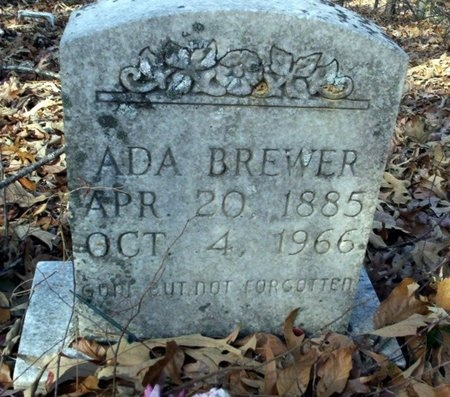 BREWER, ADA - Ouachita County, Arkansas | ADA BREWER - Arkansas Gravestone Photos