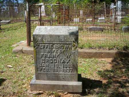 BROWN BRODNAX, EFFIE - Ouachita County, Arkansas | EFFIE BROWN BRODNAX - Arkansas Gravestone Photos