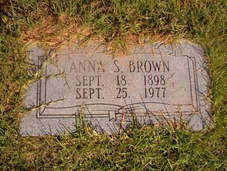 BROWN, ANNA S - Ouachita County, Arkansas | ANNA S BROWN - Arkansas Gravestone Photos