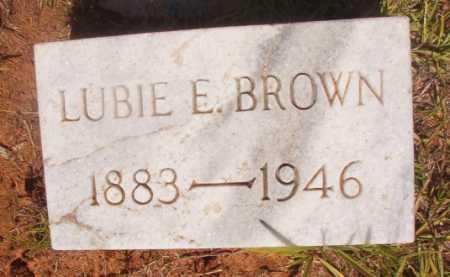 BROWN, LUBIE E - Ouachita County, Arkansas   LUBIE E BROWN - Arkansas Gravestone Photos