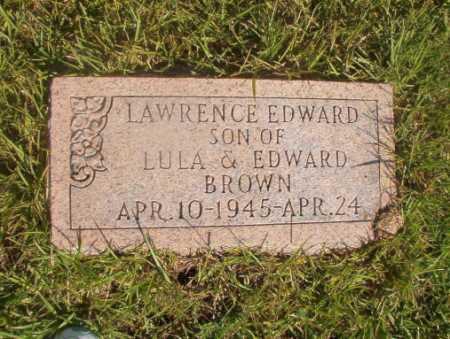 BROWN, LAWRENCE EDWARD - Ouachita County, Arkansas | LAWRENCE EDWARD BROWN - Arkansas Gravestone Photos