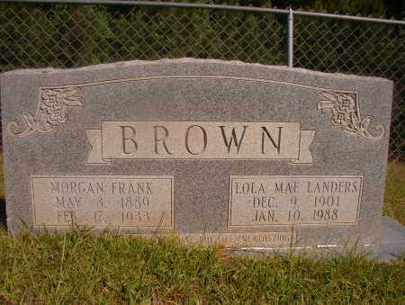 BROWN, LOLA MAE - Ouachita County, Arkansas | LOLA MAE BROWN - Arkansas Gravestone Photos