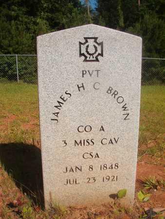 BROWN (VETERAN CSA), JAMES H C - Ouachita County, Arkansas | JAMES H C BROWN (VETERAN CSA) - Arkansas Gravestone Photos