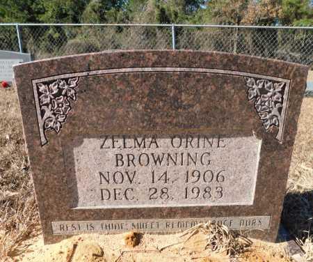 BROWNING, ZELMA ORINE - Ouachita County, Arkansas | ZELMA ORINE BROWNING - Arkansas Gravestone Photos