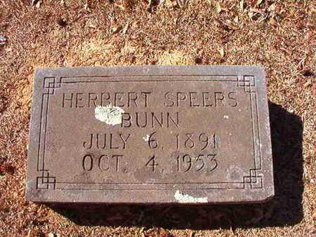 BUNN, HERBERT SPEERS - Ouachita County, Arkansas | HERBERT SPEERS BUNN - Arkansas Gravestone Photos