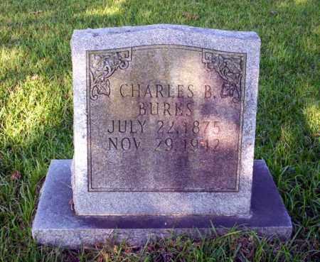 BURKS, CHARLES B - Ouachita County, Arkansas   CHARLES B BURKS - Arkansas Gravestone Photos