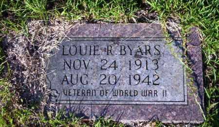 BYARS (VETERAN WWII), LOUIE R - Ouachita County, Arkansas | LOUIE R BYARS (VETERAN WWII) - Arkansas Gravestone Photos