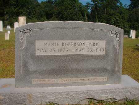 ROBERSON BYRD, MAMIE - Ouachita County, Arkansas   MAMIE ROBERSON BYRD - Arkansas Gravestone Photos