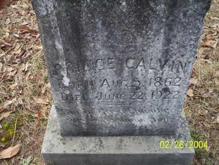 CALVIN, PRINCE - Ouachita County, Arkansas   PRINCE CALVIN - Arkansas Gravestone Photos