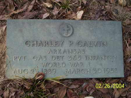 CALVIN (VETERAN WWI), CHARLEY P - Ouachita County, Arkansas | CHARLEY P CALVIN (VETERAN WWI) - Arkansas Gravestone Photos
