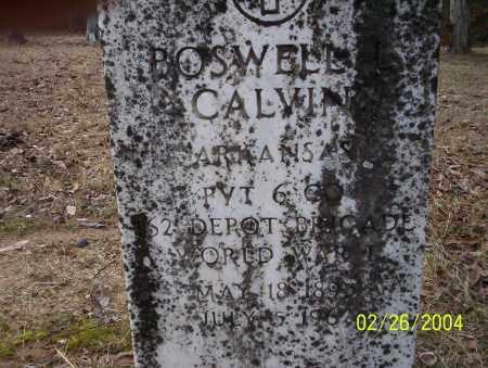 CALVIN (VETERAN WWI), BOSWELL - Ouachita County, Arkansas   BOSWELL CALVIN (VETERAN WWI) - Arkansas Gravestone Photos