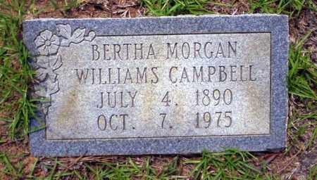 CAMPBELL, BERTHA - Ouachita County, Arkansas | BERTHA CAMPBELL - Arkansas Gravestone Photos