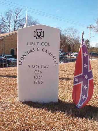 CAMPBELL (VETERAN CSA), LEONIDAS C - Ouachita County, Arkansas   LEONIDAS C CAMPBELL (VETERAN CSA) - Arkansas Gravestone Photos