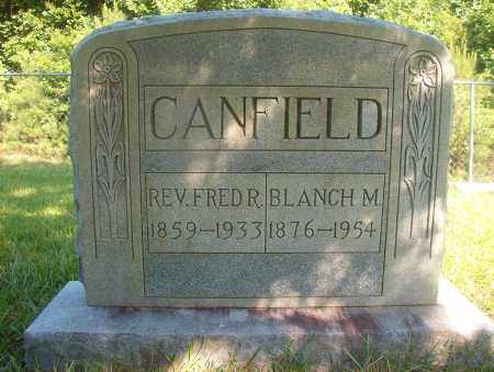 CANFIELD, BLANCH M - Ouachita County, Arkansas | BLANCH M CANFIELD - Arkansas Gravestone Photos