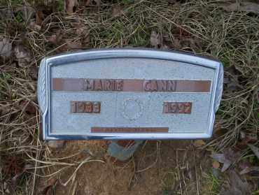 CANN, MARIE - Ouachita County, Arkansas   MARIE CANN - Arkansas Gravestone Photos