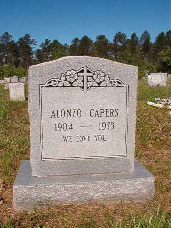 CAPERS, ALONZO - Ouachita County, Arkansas | ALONZO CAPERS - Arkansas Gravestone Photos
