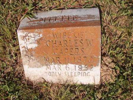 CAPERS, MITTIE - Ouachita County, Arkansas | MITTIE CAPERS - Arkansas Gravestone Photos