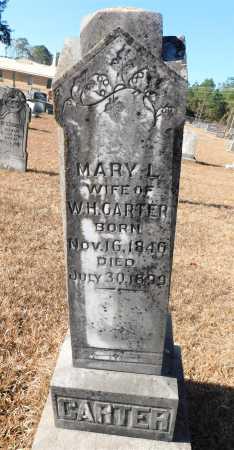 CARTER, MARY L - Ouachita County, Arkansas | MARY L CARTER - Arkansas Gravestone Photos