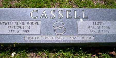 MOORE CASSELL, MYRTLE SUSIE - Ouachita County, Arkansas | MYRTLE SUSIE MOORE CASSELL - Arkansas Gravestone Photos