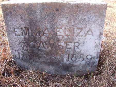 CAWSER, EMMA ELIZA - Ouachita County, Arkansas   EMMA ELIZA CAWSER - Arkansas Gravestone Photos