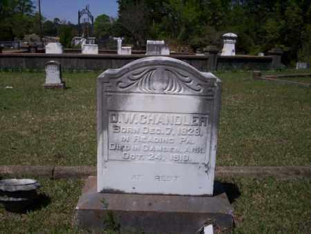 CHANDLER, D.W. - Ouachita County, Arkansas | D.W. CHANDLER - Arkansas Gravestone Photos