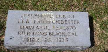 CHIDESTER, JOSEPH BYRD - Ouachita County, Arkansas | JOSEPH BYRD CHIDESTER - Arkansas Gravestone Photos