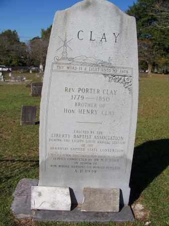 CLAY, REV., PORTER - Ouachita County, Arkansas | PORTER CLAY, REV. - Arkansas Gravestone Photos