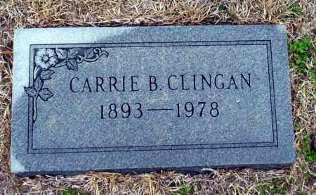 CLINGAN, CARRIE B - Ouachita County, Arkansas   CARRIE B CLINGAN - Arkansas Gravestone Photos