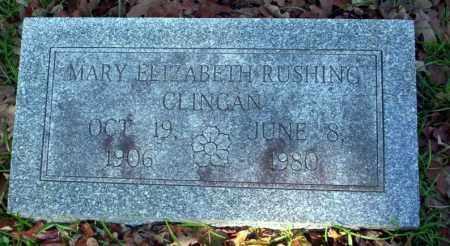 CLINGAN, MARY ELIZABETH - Ouachita County, Arkansas   MARY ELIZABETH CLINGAN - Arkansas Gravestone Photos