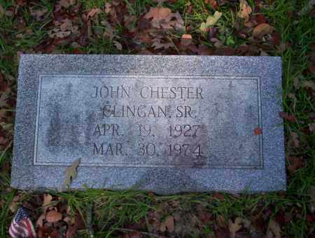 CLINGAN SR., JOHN CHESTER - Ouachita County, Arkansas   JOHN CHESTER CLINGAN SR. - Arkansas Gravestone Photos