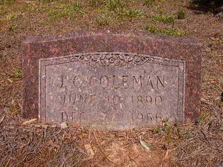 COLEMAN, J C - Ouachita County, Arkansas | J C COLEMAN - Arkansas Gravestone Photos