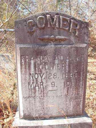 COMER, FRANCES ADALINE - Ouachita County, Arkansas | FRANCES ADALINE COMER - Arkansas Gravestone Photos