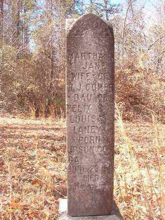 LANEY COMER, MARTHA JANE - Ouachita County, Arkansas | MARTHA JANE LANEY COMER - Arkansas Gravestone Photos