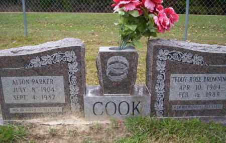 COOK, ALTON PARKER - Ouachita County, Arkansas | ALTON PARKER COOK - Arkansas Gravestone Photos