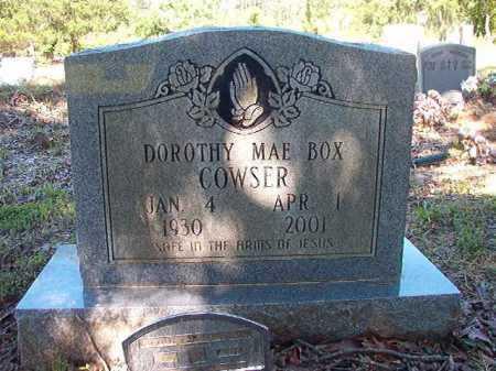 COWSER, DOROTHY MAE - Ouachita County, Arkansas | DOROTHY MAE COWSER - Arkansas Gravestone Photos