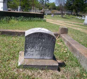 CROCKER, WM BYRD - Ouachita County, Arkansas | WM BYRD CROCKER - Arkansas Gravestone Photos