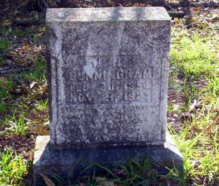 CUNNINGHAM, J.H. - Ouachita County, Arkansas   J.H. CUNNINGHAM - Arkansas Gravestone Photos