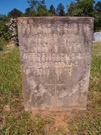 CURTIS, ARMANDIA - Ouachita County, Arkansas   ARMANDIA CURTIS - Arkansas Gravestone Photos