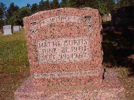 CURTIS, MATTIE - Ouachita County, Arkansas   MATTIE CURTIS - Arkansas Gravestone Photos
