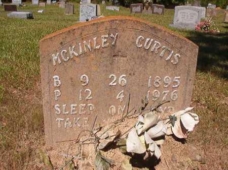CURTIS, MCKINLEY - Ouachita County, Arkansas   MCKINLEY CURTIS - Arkansas Gravestone Photos