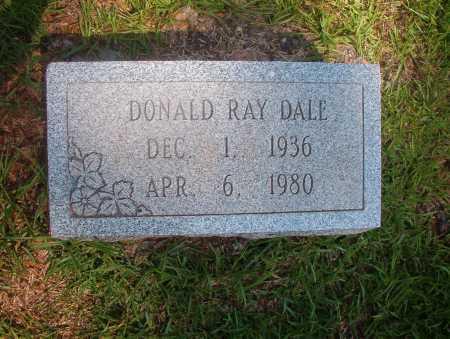 DALE, DONALD RAY - Ouachita County, Arkansas   DONALD RAY DALE - Arkansas Gravestone Photos