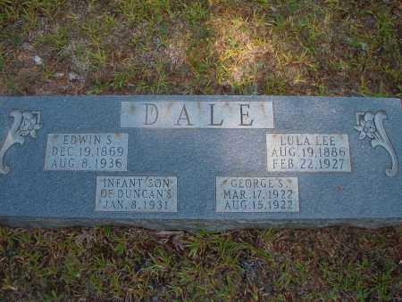 DALE, INFANT SON - Ouachita County, Arkansas | INFANT SON DALE - Arkansas Gravestone Photos