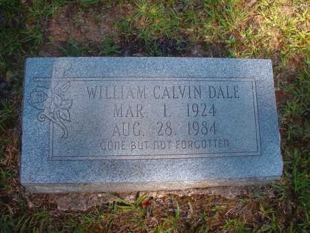 DALE, WILLIAM CALVIN - Ouachita County, Arkansas | WILLIAM CALVIN DALE - Arkansas Gravestone Photos