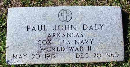 DALY (VETERAN WWII), PAUL JOHN - Ouachita County, Arkansas   PAUL JOHN DALY (VETERAN WWII) - Arkansas Gravestone Photos